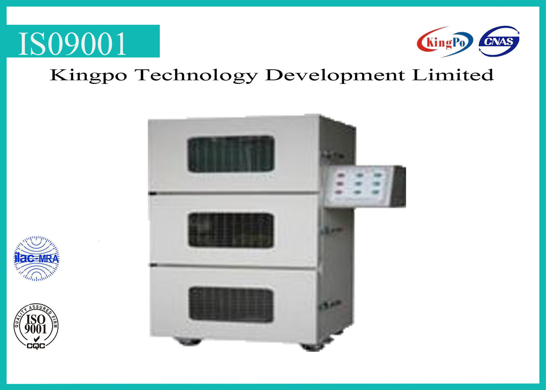 Battery Testing Machine / Overcharge Explosion Proof Test Chamber 300mm*300mm*300mm